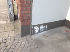 politisk street art