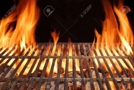 39123461-flame-fire-empty-hot-barbecue-charcoal-grill-with-glowing-coals-stock-photo